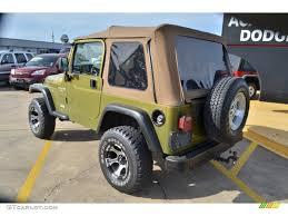1997 Citron Pearl Jeep Wrangler Sport 4x4 62036411 Photo 3
