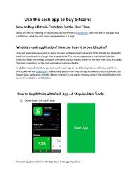 5 steps to buy bitcoin cash with etoro now. Buy Bitcoin With Cash Application By Asif Javed Issuu