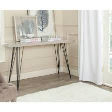 home entrance table. Safavieh Wolcott Taupe And Black Console Table Home Entrance T