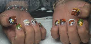 Acrylic nail designs for thanksgiving ~ Beautify themselves with ...