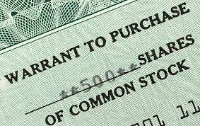 Selling A Share Certificate Stock Warrants Why Do Companies Issue Stock Warrants