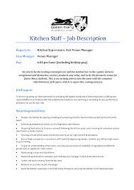 Bedroom Tasty Resume For Kitchen Job Application Letter Sample