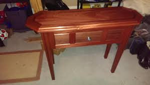 red entry table. One Of A Kind Entry Table And Centerpiece Red