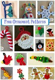 Free Crochet Christmas Ornament Patterns Custom CAL 48 Countdown Calendar Moogly Community Board Pinterest
