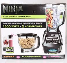 ninja kitchen system pulse bl electric ninja bl mega kitchen system cooking appliance professional blender w