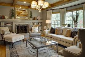 Small Country Living Room Country Living Decor Ideas Christmas Living Room Decorating Idea