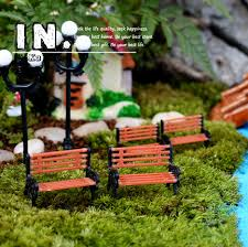 garden ornaments and accessories. Cute Mini Chair Bench Home Decor Miniatures Fairy Garden Ornaments Figurines Toys DIY Aquarium/Dollhouse And Accessories