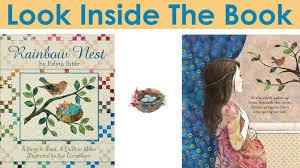 Rainbow Nest Children's Book with Quilt Pattern by Edyta Sitar &  Adamdwight.com