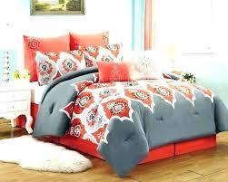 orange and white bedding navy blue comforter set purple grey rugby stripe