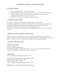 Beautiful Implementation Consultant Resume Ideas - Simple resume .