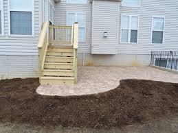paver patio with deck. Simple Deck Contact Us Throughout Paver Patio With Deck