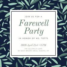 Invitation Cards For Farewell Party Invitation Card About Farewell Party Fresh Classic Farewell Party