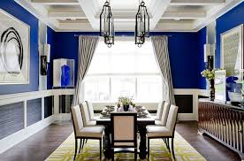 blue dining room.  Dining View In Gallery Unique Cheerful Blue Dining Room Photography Rikki Snyder And Blue Dining Room