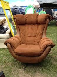 large baseball glove chair