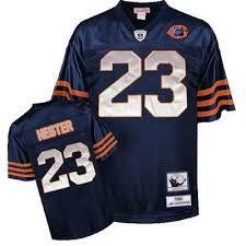 Football Number Bears Jersey amp; Big Blue Hester Devin Ness Mitchell Throwback