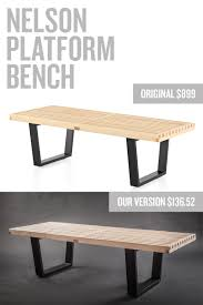 Diy Bench Nelson Bench Knock Off Tutorial East Coast Creative Blog