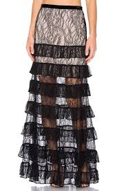 Alexis Vicky Skirt Black Lace Women Alexis Tops On Sale