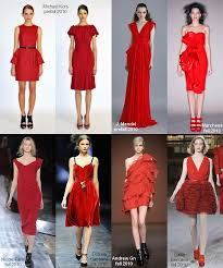 lipstick red evening tail dresses fall 2010