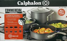 calphalon commercial hard anodized.  Commercial Calphalon Commercial Nonstick Hard Anodized 13 Piece Cookware Set Brand  New 1 Of 1FREE Shipping  Intended L