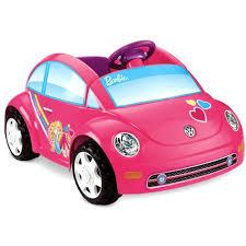 Power Wheels Barbie Volkswagen New Beetle 6-Volt Battery-Powered ...