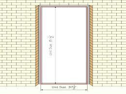 Exterior Door Height Standard Exterior Door Size Standard Bedroom Door  Height Large Size Of Garage Standard .