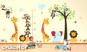 jungle wall decals jungle theme wall decals canada