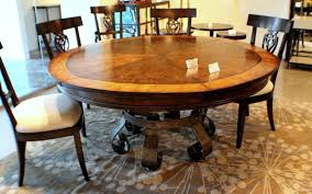 creative expandable dining room sets on budget gorgeous round shaped expandable dining room sets surrounded
