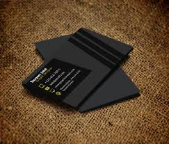 Free Business Card Templates Psd Free Personal Card Templates