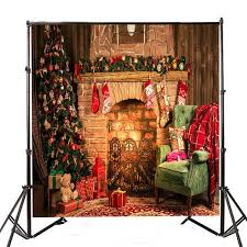 office backdrops. 8x8ft Christmas Style Fireplace Sofa Pattern Photography Background Cloth Studio Backdrops Office R