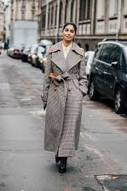 trenst trench coat outfits for the season plaid trench coat
