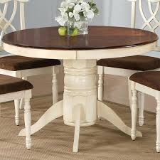 dining table with leaf extension round pedestal dining table table home accessories design round table with