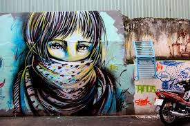 a 3 week trip in 3 cities singapore yogyakarta and ho chi minh on wall mural artist singapore with alice new street art pieces singapore indonesia vietnam