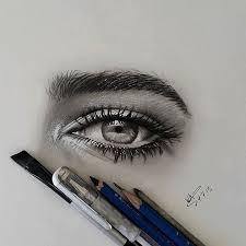 eyebrow shading drawing. 60 beautiful and realistic pencil drawings of eyes eyebrow shading drawing n