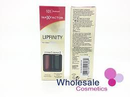 Lipfinity Colour Chart Wholesale Cosmetics 12 X Max Factor Lipfinity Lip Colour
