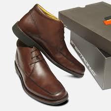 Mens Designer Dress Shoes Steptronic Formal Brown Mens Designer Lace Up Boots