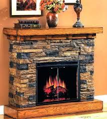 fieldstone electric fireplace awesome dimplex fieldstone rustic electric fireplace stylish