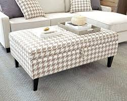 fabric ottoman coffee table australia bench diy