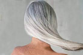 growing out gray hair gracefully