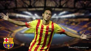 The great collection of neymar wallpaper barcelona 2015 for desktop, laptop and mobiles. Fc Barcelona Neymar Jr Wallpaper By Sameerhd On Deviantart