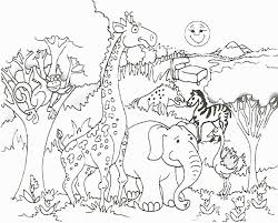 For this activity, i used a large white montessori. Coloring Pages Safari Animals Funny Coloring Page Free Printable Coloring Home
