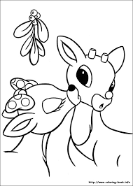 Small Picture Rudolph the Red Nosed Reindeer coloring picture patterns