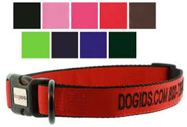 monogrammed dog collars. Embroidered Personalized Dog Collars Monogrammed