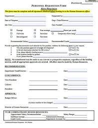 employment requisition form template 8 personnel requisition form templates pdf free premium templates