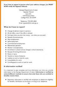 9 10 Unemployed Letter Sample Lasweetvida Com