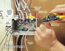 how to rough in electrical wiring the family handyman photo 11 group the wires together
