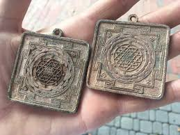 looking for additional info on these sri yantra pendants i found are they old