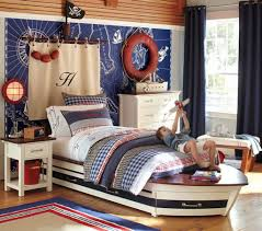 Kids Room: Pirateship Theme Bedroom With Wall Murals - Pirate Bedroom