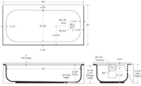 bathtubs idea bath tub dimensions small bathtub sizes freestanding bathtub in oblong shape dimention