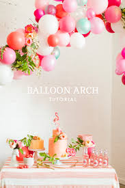 balloon arch tutorial the house that