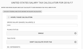 Salary Calculator United States Salary Tax Calculator Alternatives and Similar 93